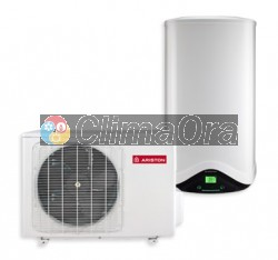 Scaldabagno Pompa di Calore Ariston Nuos Split 110 WH accumulo 110lt