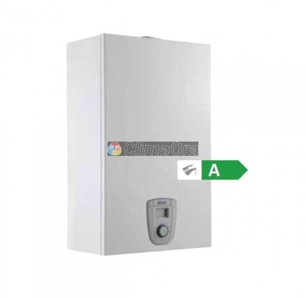 Scaldabagno a Gas Istantaneo Baxi ACQUAPROJET 11Fi Blue GL Low NOx GPL Completo di Kit Fumi - new ErP